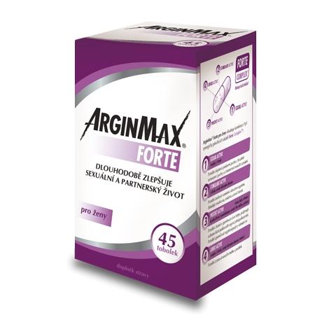 ArginMax Forte pre ženy 45 tbl - Simply you pharmaceuticals -