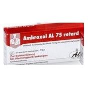 Ambroxol AL 75 retard 20 tbl
