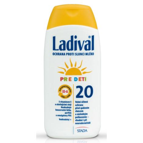 Ladival Kinder SPF 20 opaľovacie mlieko pre deti 200 ml