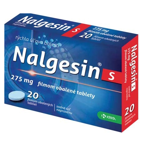 Nalgesin S 10 tabliet