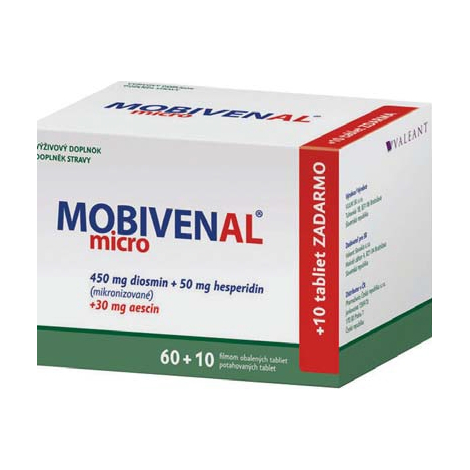 Mobivenal micro 60+10 tbl