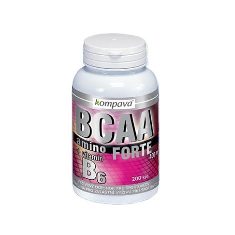 KOMPAVA Amino BCAA Forte 200 cps