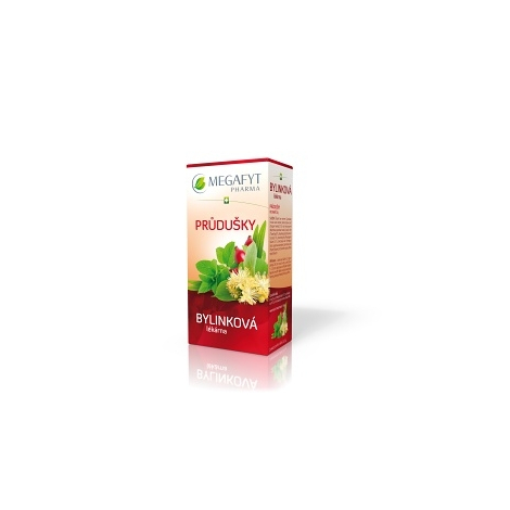 MEGAFYT Bylinková lekáreň Priedušky porciovaný čaj