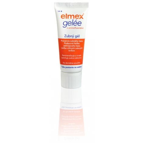 Elmex Gelée zubný gél 25 g