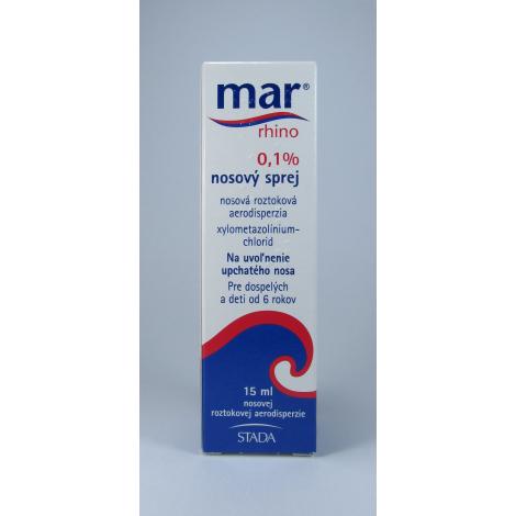 Mar rhino 0,1% nosový sprej 15 ml