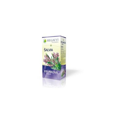 MEGAFYT Bylinková lekáreň Šalvia porciovaný čaj 20x1,5g