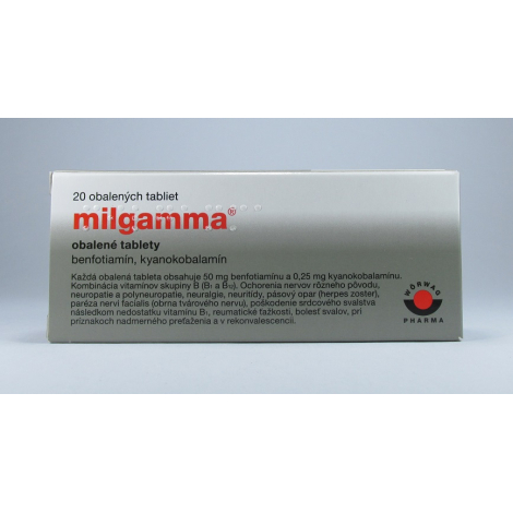 Milgamma 20 tbl