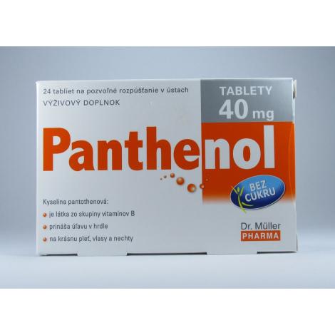 Dr. Müller Panthenol 40 mg 24 tbl - Lieky24 c5b2bc6be57