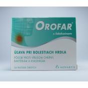 Orofar pastilky 24 past