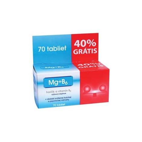 Zdrovit Mg + B6 tablety + 40 % ZDARMA 70 tbl