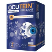 OCUTEIN BRILLANT Lutein 25 mg 60 tbl + očné kvapky Ocutein SENSITIVE 15 ml
