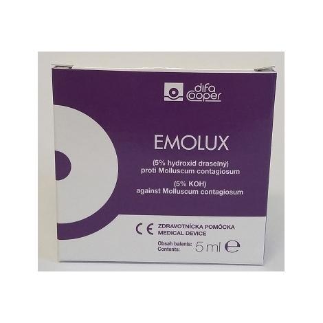 Emolux 5% roztok 5 ml