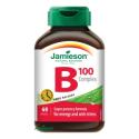 Jamieson B-komplex 100 mg s postupným uvoľňovaním 60 tbl.