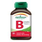 Jamieson B-komplex s vitamínom C 100 tbl