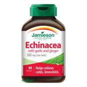 Jamieson Echinacea s cesnakom a zázvorom 45 cps