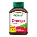 Jamieson Omega 3-6-9 1200 mg 80 + 20 cps.