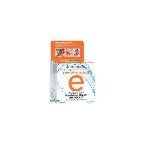 Jamieson ProVitamina hydratačný vyživujúci krém s vitamínom E 30000 IU 120 ml