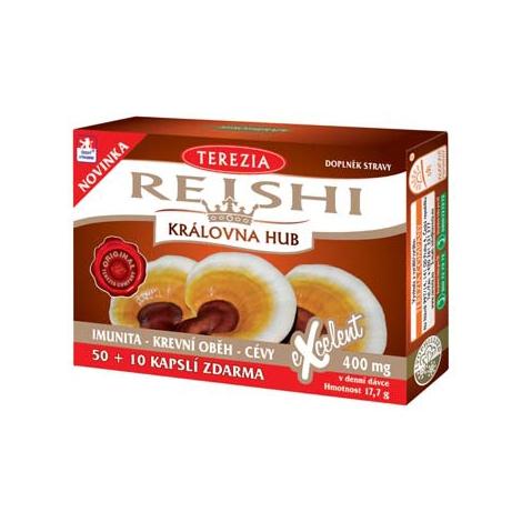 Terezia Reishi 100% 50+10 cps  - Terezia Company -