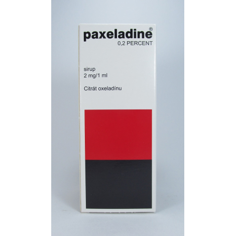 Paxeladine sirup 0,2 % 125 ml