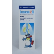 Bromhexin 12 BC kvapky 30 ml