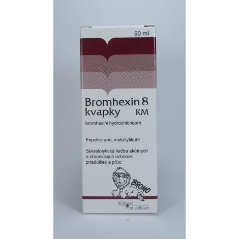 Bromhexin 8  kvapky KM 50 ml