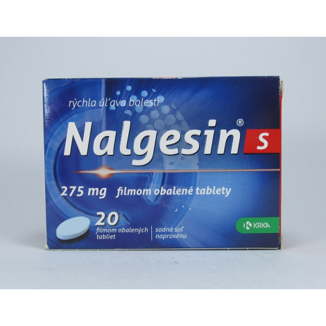 Nalgesin S 20 tabliet