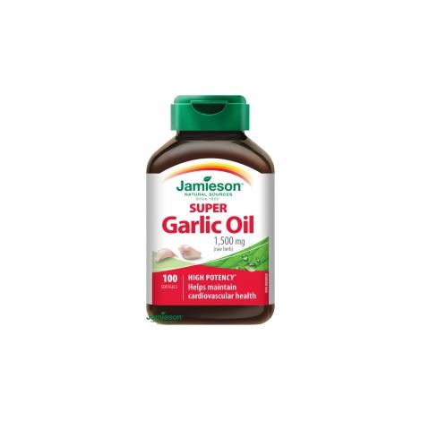Jamieson Super cesnakový olej 1500 mg 100 cps