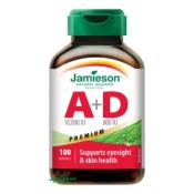 Jamieson Vitamín A a D Premium 10000 IU/ 800 IU 100 cps
