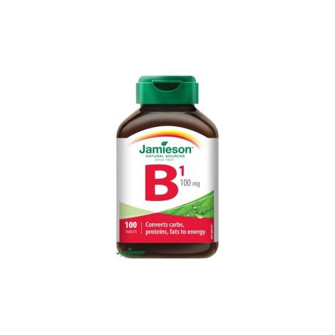 Jamieson Vitamín B1 tiamín 100 mg 100 tbl
