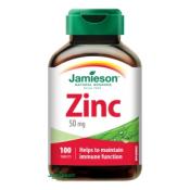 Jamieson Zinok 50 mg 100 tbl