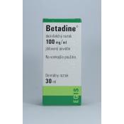 Betadine dezinfekčný roztok 30ml