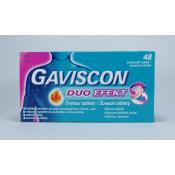 Gaviscon Duo Efekt 24 žuvacích tbl