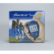 Finetest  testovacie prúžky do glukomera 50 ks