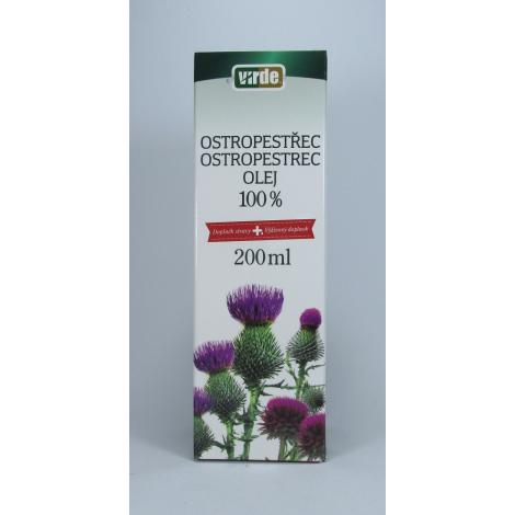 Ostropestrec 100 % olej 200 ml