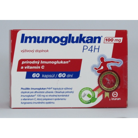 Imunoglukan P4H 100 mg 60 cps VÝHODNÉ BALENIE 2x60CPS