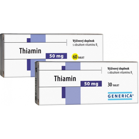 Generica Thiamin 60 tbl