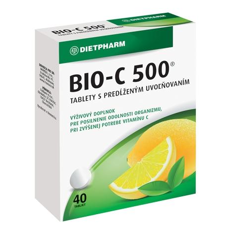 Dietpharm BIO-C 500 s predĺženým účinkom 40 tbl