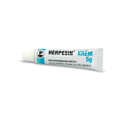 Herpesin krém 5g