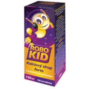 ROBO KID Kalciový sirup forte 150 ml