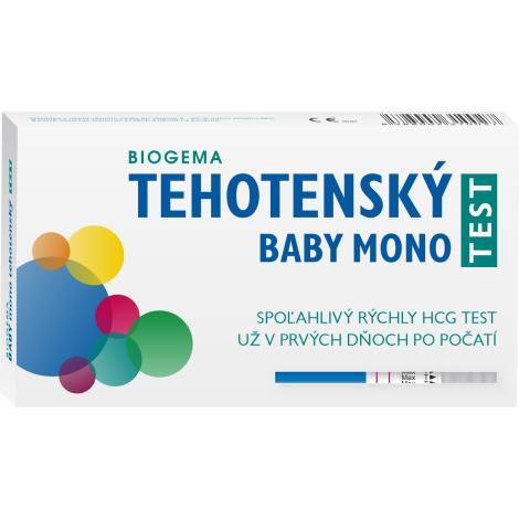 Biogema Tehotenský test Baby test prúžkový mono 1ks