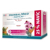 HERBALMED pastilky pre posilnenie imunity Dr Weiss 12 ks