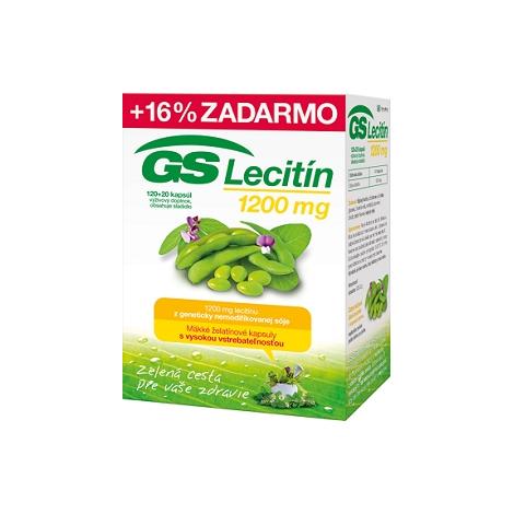 GS Lecitín 1200 120+20 cps