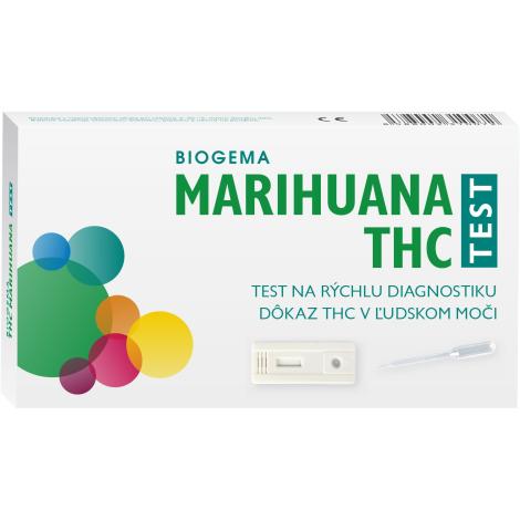 THC Marihuana drogový test na stanovenie drog v moči