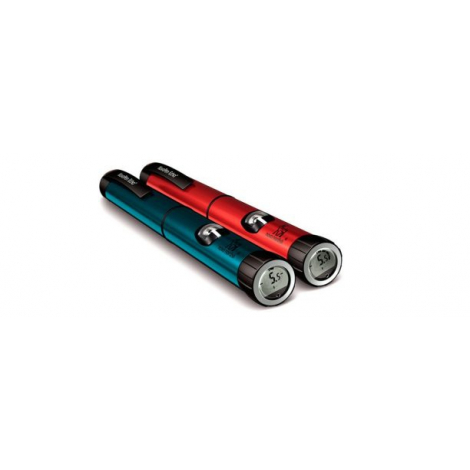 NovoPen Echo® inzulínové pero s pamäťou poslednej dávky, modré 1x1 ks