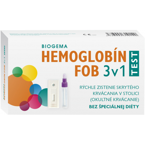 Biogema Hemoglobín FOB test 3v1