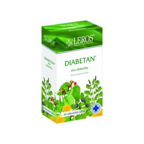 LEROS Diabetan porciovaný čaj 20x1g