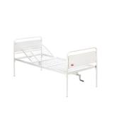 Polohovacia posteľ mechanická - dvojdielna