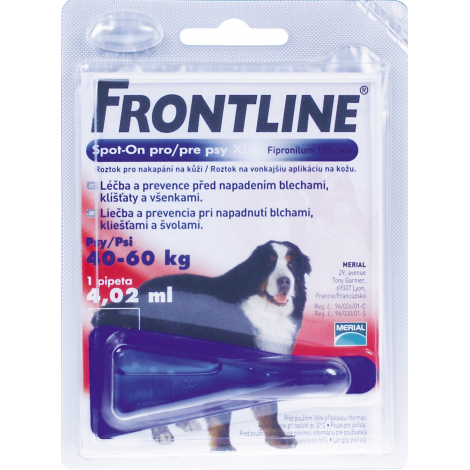 Frontline spot on pre psy XL (40- 60 kg)