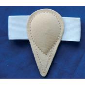 Ortopedické vložky s plastovou pelotou – typ 1