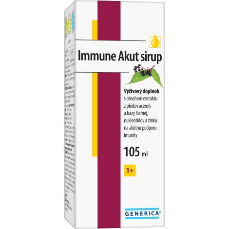 Generica Immune Akut sirup 105 ml